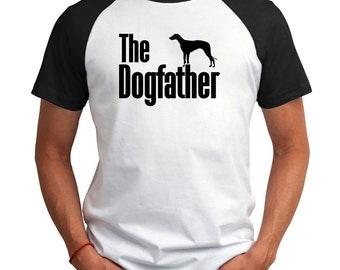 The dogfather Magyar Agár Raglan T-Shirt