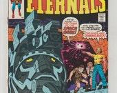 Eternals, Vol 1, 1, Bronze Age Comic Book.  VF+ (8.5). July 1976.  Marvel Comics
