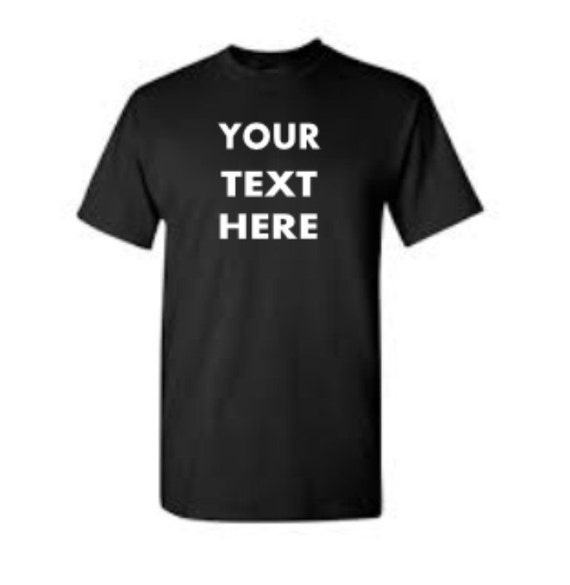 Items similar to custom tshirt personalized vinyl shirt - How to design your own shirt at home ...