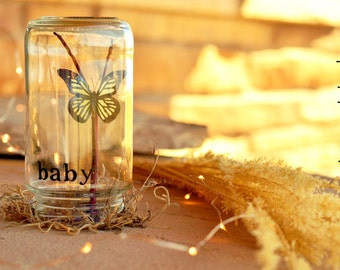 Baby   Unique personalized baby shower gift   Gender neutral baby   Baby shower centerpiece   Pregnancy reveal   Gift for new mom