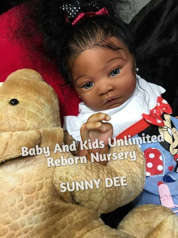 Custom Lulu Reborn Babyaa Reborn Babyafrican American