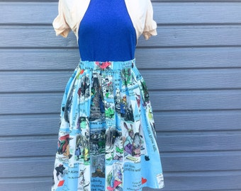 The Alice in Wonderland Skirt