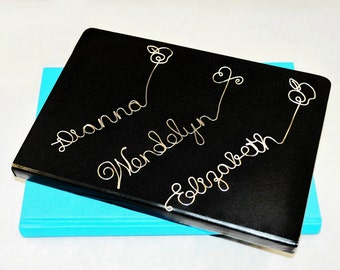 Personalized Bookmark/ Custom Bookmark /Name Bookmark / Personalized Wire Bookmark--- Unique, Thoughtful Wedding Favor