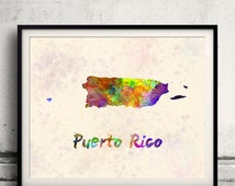 Unique caribe puerto rico related items etsy for Puerto rico home decorations