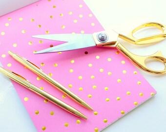 Gold scissors | sewing scissors | retro scissors