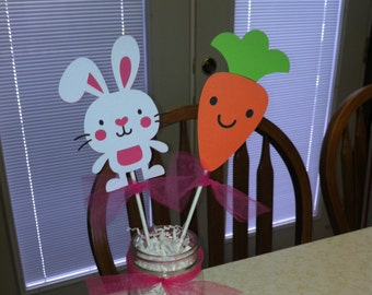 Easter centerpiece sticks