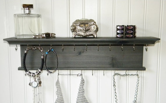 18 collier bracelet porte bijoux organisateur modern. Black Bedroom Furniture Sets. Home Design Ideas