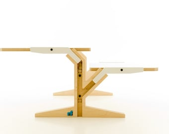 """10 colours - Coffee table """"rform Vegetale"""" - three different models"""