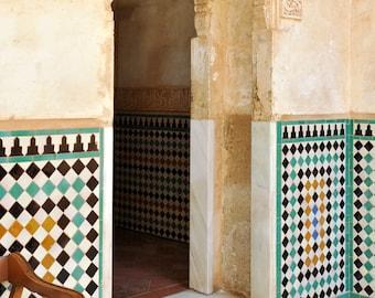 Alhambra tile etsy for Alhambra decoration