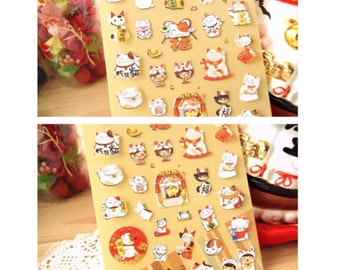 Stickers Lucky Cat SM212528