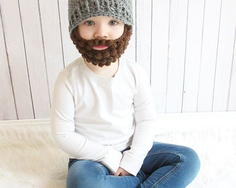 Baby Beard Hat Etsy