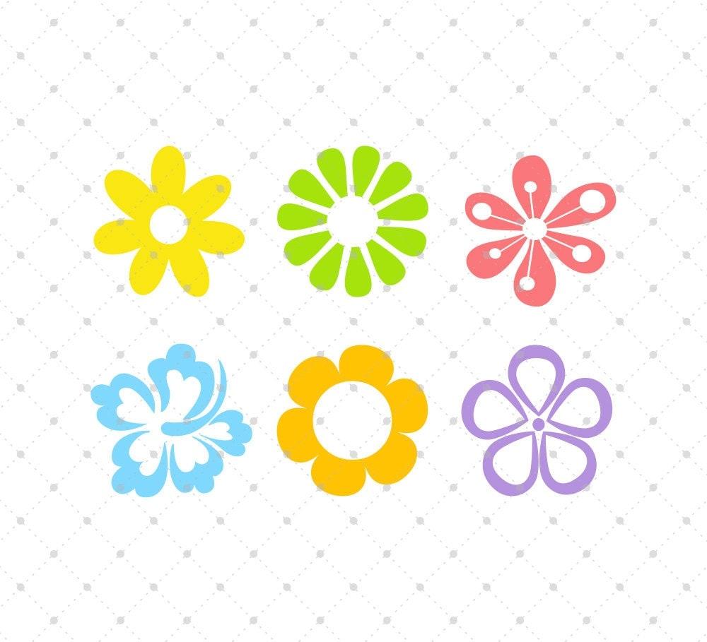 flower svg cut files spring flowers svg cut files for