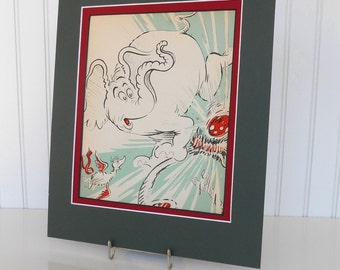 Dr. Seuss-Horton Hatches The Egg-1940 Original Book Page to Frame