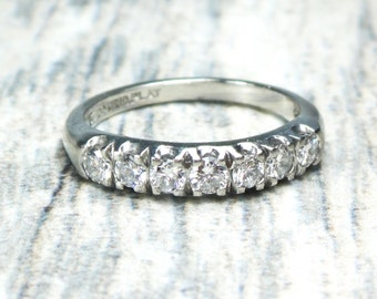 Vintage Wedding Bands Etsy