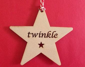 Wooden Star - Twinkle