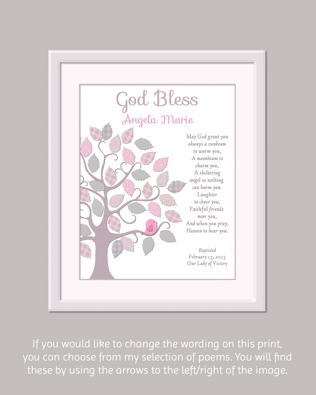 Girls baptism gift baptism gift for girls girls - Gifts for baby christening ideas ...