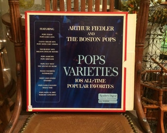 Reader's Digest Arthur Fiedler and The Boston Pops Record Collection