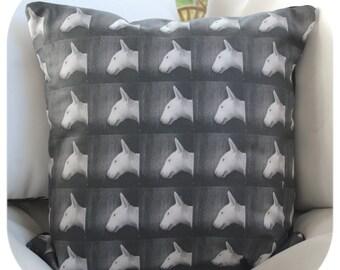 Stitchy Profile Cushion Cover