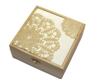 Jewelry box ,Jewelry Storage, Wooden Jewelry box