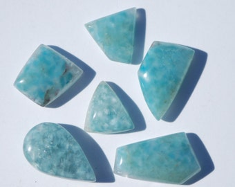 Medusa Quartz Cabochon, One piece Included turquoise gilalite crystals in natural quartz, sizes vary, Free Form Brazil, C4558