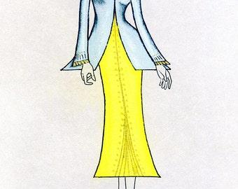 Sculptress Wedding Dress & Jacket