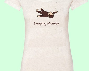 Sleeping Monkey - Women's Tees - New for Summer Tour 2016