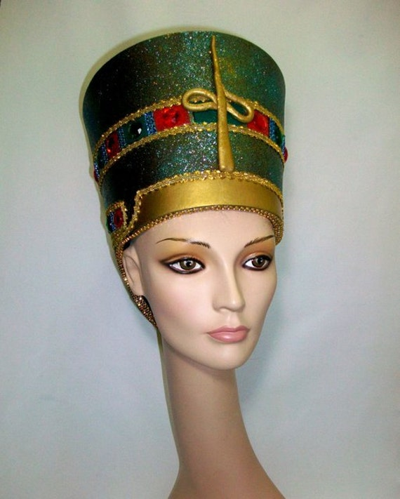 Nefertiti Headdress Egyptian Headdress Burning man by ...
