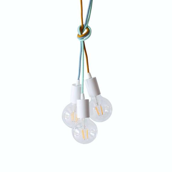 Children light ceiling lighting pendant light kids room decor for Hanging lights for kids room