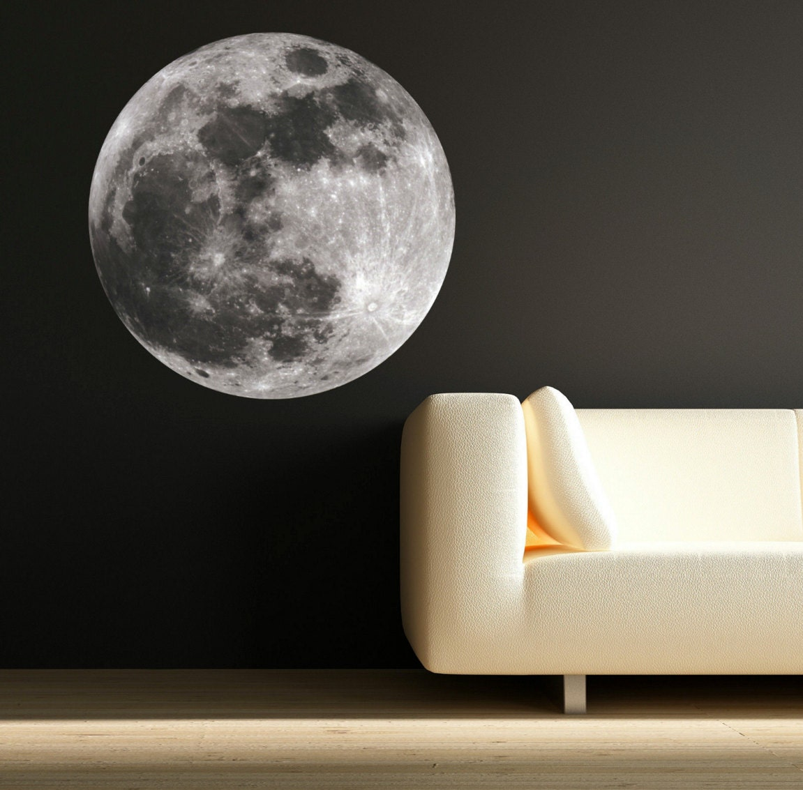 Moon Wall Art Decals Moon Science Astronomy Space Universe
