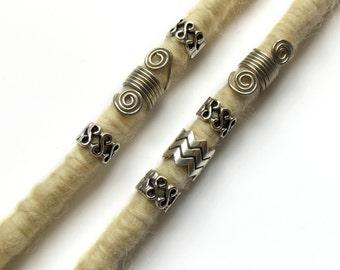 Hair beads, Big hole size metal dreadlocks beads, loc jewelry, Dwarf beard metal beads, Hair jewelry, Hair accessories, Viking Beard Beads