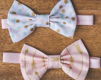 Baby Headband,Newborn Headbands,Bow Headband,Big Bow Headband,Baby Girl Headband,Baby Hair Bows,Infant Headband,Pink Bow,Shabby Chic Bow