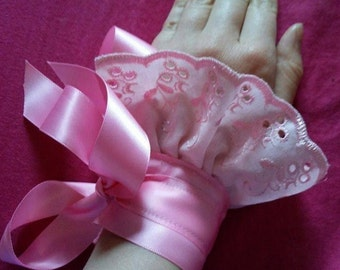 Baby Pink Hand / Ankle Cuff