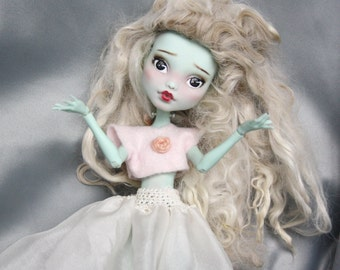 Monster High ooak Edelweiss, doll repaint