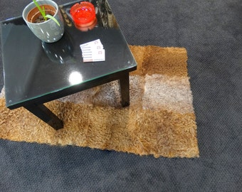 Fur rug, Home decor, Real rug fur astrakhan, Fur carpet F106