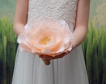 Rose - Large Single Bloom Bridal Bouquet