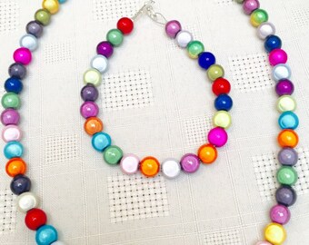 Miracle bead necklace and bracelet