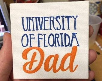 University of Florida Personalized Canvas