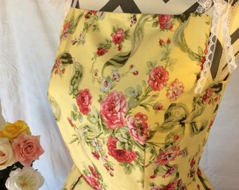 Beautiful 50's vintage semi formal floral dress