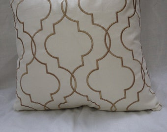 Braemore Ellora Embroidered Throw Pillow Cover