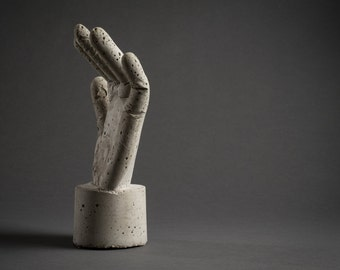 "Sculpture ""Concrete Hand"""