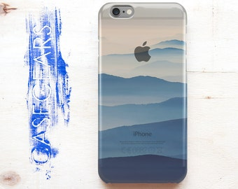 Phone Case iPhone 6 Case Hills Blue iPhone 6s Plus Case Fog iPhone 4/4s Case Freedom Note Case Stylish Cover iPod touch 5 Cover
