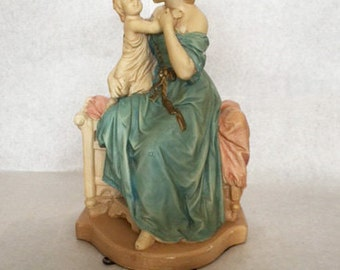 Royal Craft Vintage figurine Mother and Child