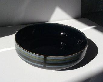 Denby Jet Stripes Serving Bowl