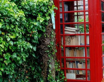 Digital Download, ''Phone Box Library'', photography by Roger Pan