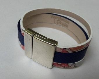 Bracelet leather woman
