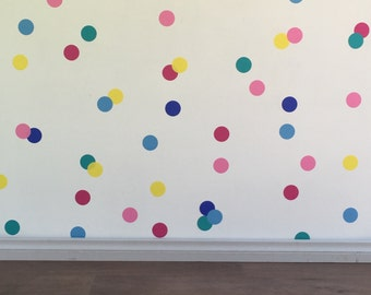Confetti Wall decals/stickers - Removable vinyl wall decals/stickers
