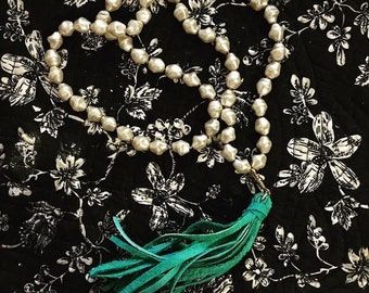 Baroque Pearls and tassle