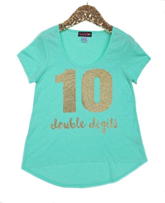 Girls Glitter Shirt Girls Personalized Shirt Tween Girls