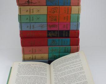Vintage The Children's Classics J.G Ferguson Publishing Company Hardcover Colorful Prop Decor Books Childrens Books Set of 10