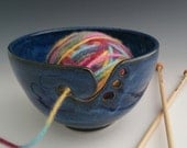Made to Order - Icy Blue Yarn Bowl